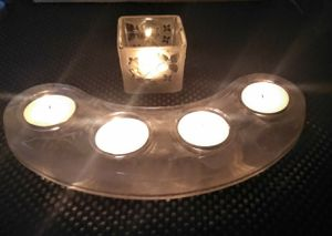 SET OF 2 PARTYLITE CANDLE HOLDERS for Sale in Clovis, CA