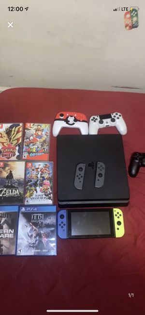 PS4/switch bundle for Sale in Dover, DE