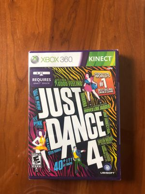Brand new XBOX 360 Kinect Just Dance 4 for Sale in Williston Park, NY