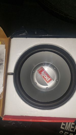 """(2) 12"""" SUBWOOFER BRAND NEW for Sale in Matteson, IL"""