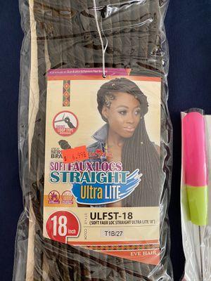 Soft faux locs hair for Sale in Sacramento, CA