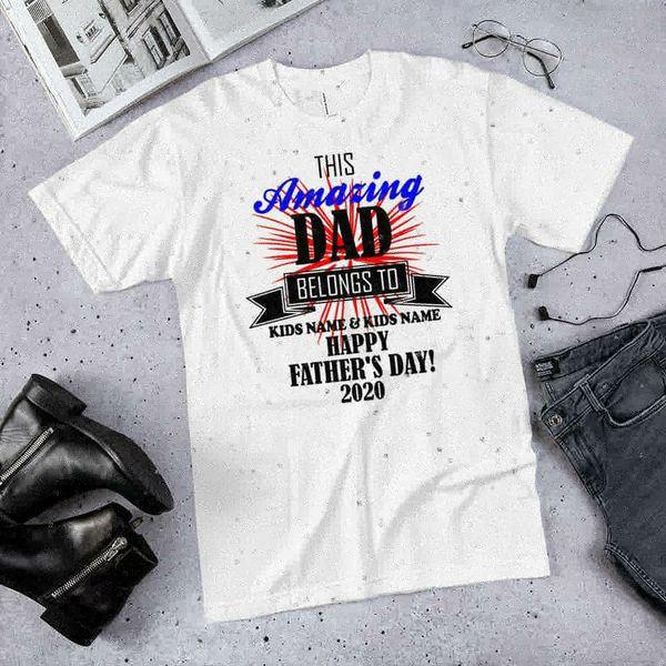 Amazing dad shirt