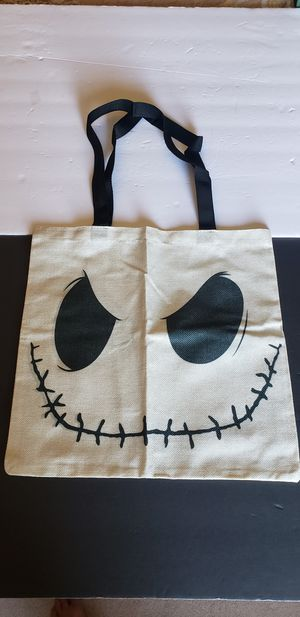 Nightmare before Christmas tote Halloween for Sale in Plainfield, IL