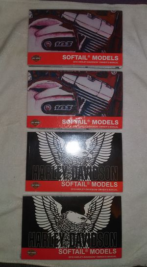 HARLEY DAVIDSON SOFTAIL OWNERS MANUALS for Sale in Marina del Rey, CA