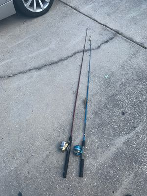 Fishing rods for Sale in Davenport, FL