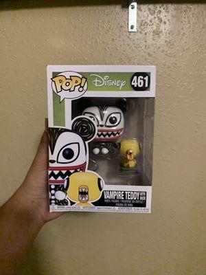Funko pop vampire teddy w/ duck for Sale in Houston, TX