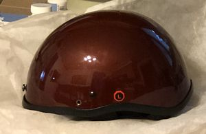 Large 1/2 size motorcycle helmet. for Sale in North Royalton, OH