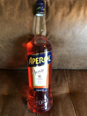 Aperol Bottle Display Collectible Bar Advertisement Glass XL for Sale in Riverside, CA