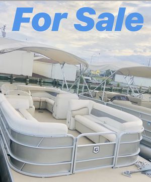 2016 Godfrey 24 ft Pontoon for sale for Sale in SUNNY ISL BCH, FL
