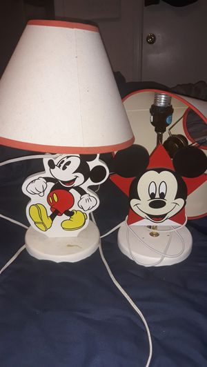 Mickey Mouse lamps for Sale in San Antonio, TX