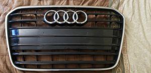 11-14 Audi Front Bumper Center Grill Gloss Black for Sale in Santa Ana, CA
