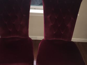 2 Velvet Chairs for Sale in Hillsboro,  OR