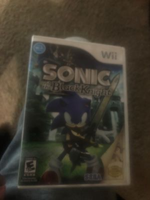 Sonic and the black night for Sale in Lodi, CA