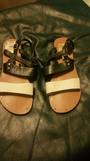 Leather sandals 15 for Sale in Columbus, OH