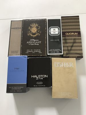 Mens fragrances & colognes authentic wrapped brand new for Sale in Orland Hills, IL