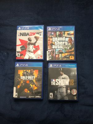 PlayStation 4 Games for Sale in Houston, TX