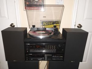 Stereo Set Up With Turntable & CD for Sale in Virginia Beach, VA