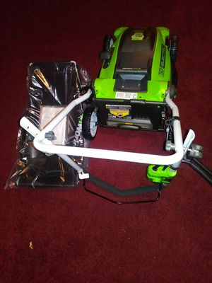 Like new electric lawn mower with bag for Sale in Catonsville, MD