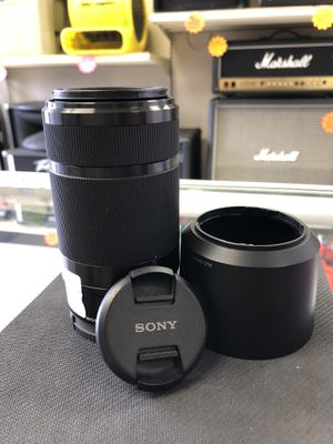 Sony Interchangeable Lens, Model SEL55210 for Sale in Humble, TX