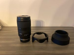 Tamron / Sony Lens like new for Sale in Miami, FL