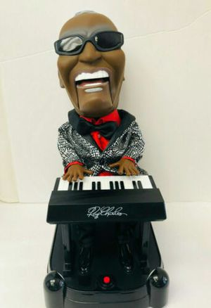 Ray Charles Swingining Swaying Animated Doll Toy Figure Animatronic Sings Plays for Sale in Maple Valley, WA