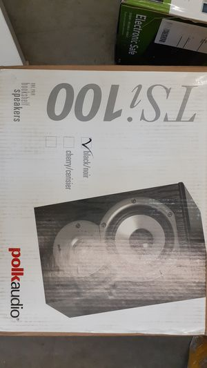 Polk Audio TSi100, Black Bookshelf Speakers for Sale in Riverview, FL