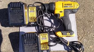 020 volt 1/2 inch drive Dewalts Cordless Drill for Sale in Tallahassee, FL