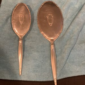 Vintage Saart Brothers Sterling Silver Brush And Mirror Set for Sale in Vernon, CA