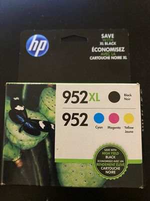 952 XL Color and Black Ink for Sale in Dedham, MA