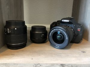 Canon Rebel EOS T3i for Sale in San Diego, CA