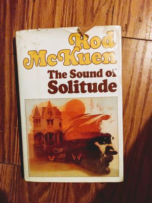 The Sound Of Solitude First Edition 1983 with Drawings by the author for Sale in San Antonio, TX