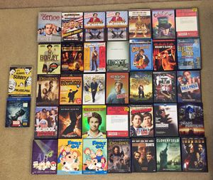 DVD's AND A DARK KNIGHT BLU-RAY!! 37 TOTAL GREAT ASSORTMENT OF CLASSICS for Sale in Los Angeles, CA