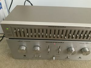 Vintge marantZ power amp&graphic eq for Sale in Charlotte, NC