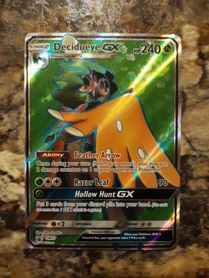 Pokemon Card - Holofoil Decidueye GX Promo for Sale in Mead, WA