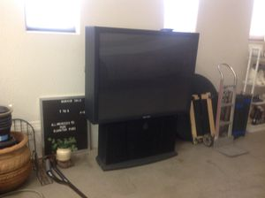 """50"""" Phillips projection tv for Sale in Whiteriver, AZ"""
