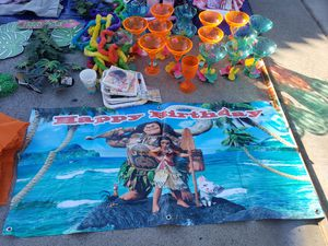 Moana Birthday decorations for Sale in Orange, CA