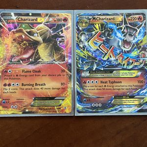 Charizard Ex And Mega Form Pokémon Card for Sale in Tigard, OR