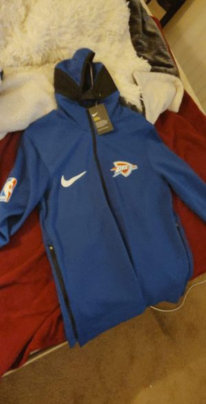 OKC NBA Jacket with hoodie for Sale in Chula Vista, CA