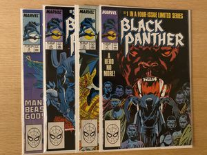 Marvel Comics Black Panther 1-4 for Sale in Seattle, WA