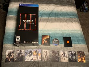 Call of Duty Black Ops 3 Juggernog Edition Pack (PS4 Game and extras) for Sale in Apple Valley, CA