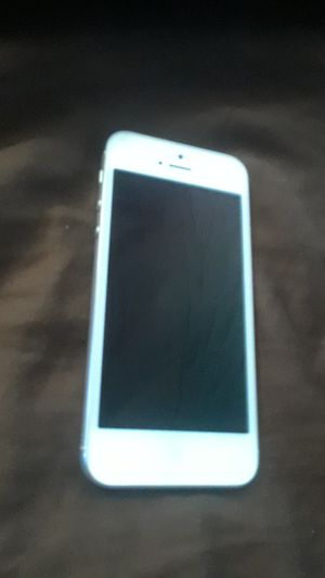Iphone 5 works but home button stuck for Sale in Scottsdale, AZ