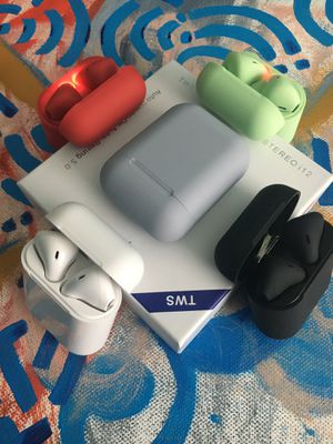 Wireless EarBuds Bluetooth Ear Pods Headphones for Iphone Android Samsung (Airpods) for Sale in Sanford, FL