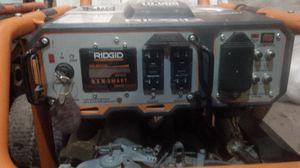 Ridgid 8000/10000 electric start generator w Subaru engine for Sale in Fairfax, VA