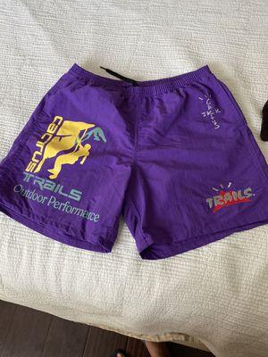 Travis Scott -Cactus Jack - Purple Trail Shorts for Sale in Lynwood, CA