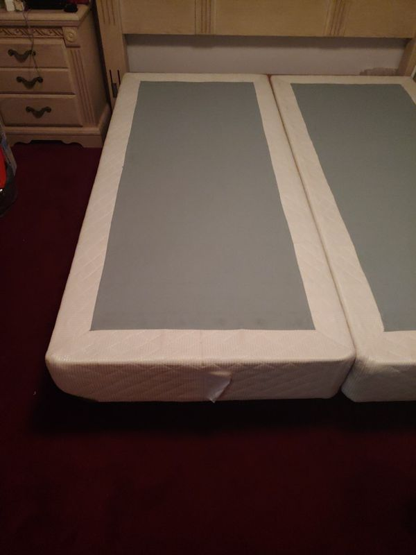 King Size Box Frame With Bed Frame L 84 x W 36 x H 9
