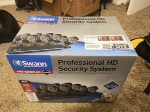 Security camera's, swann 1080p, 8 camera for Sale in Clearwater, FL