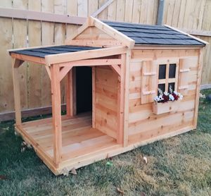 New Insulated Solid Wood Dog House for Sale in Bluffdale, UT