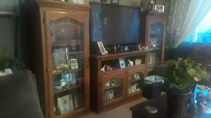 Tv entertainment center only for Sale in Fresno, CA