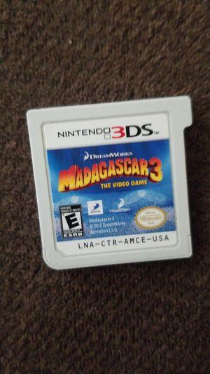 Nintendo 3DS- MADAGASCAR 3 LIKE NEW for Sale in Lakeland, FL