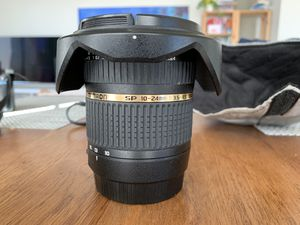 Tamron SP 10-24mm 1:3.5-4:5 - For Canon Cameras for Sale in San Diego, CA